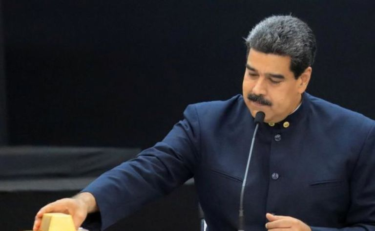 US Treasury puts sanctions on Venezuela gold