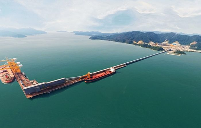 Vale reopens Malaysia port