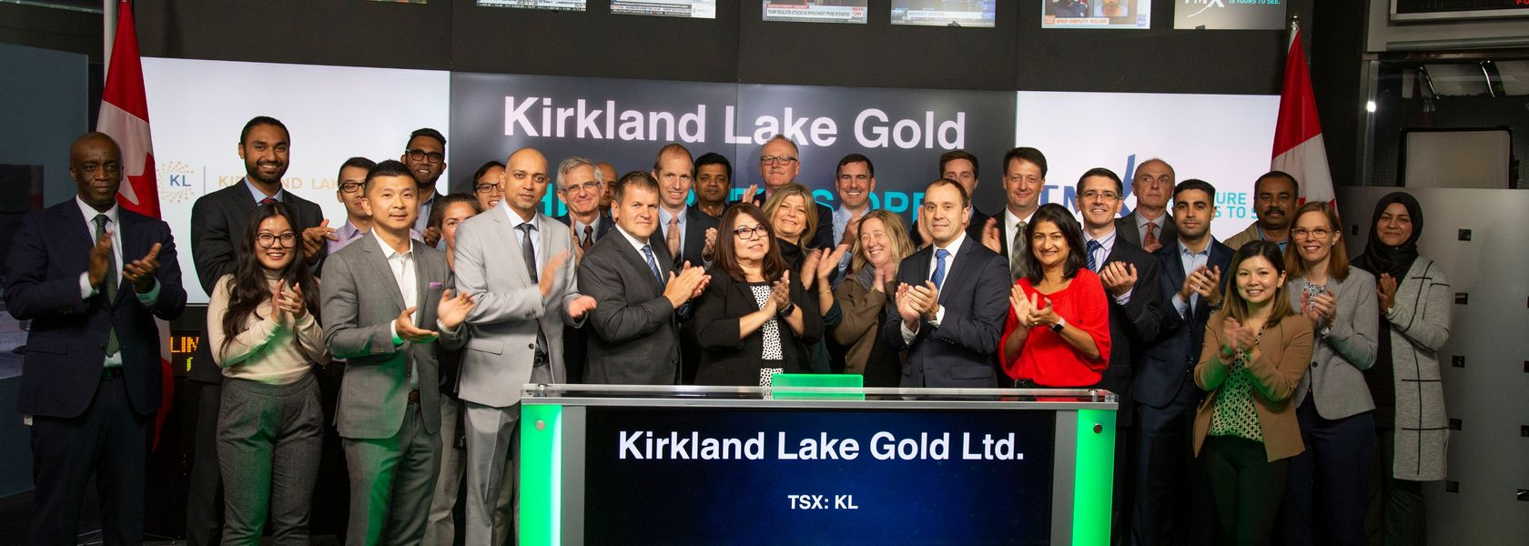 Kirkland Lake builds big war chest