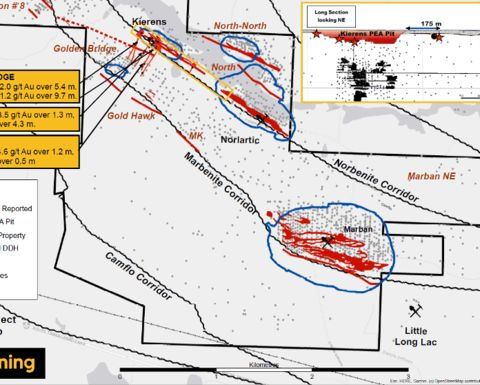 O3 discovers new Golden Bridge zone at Marban