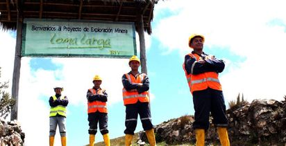 """Loma Larga…will be [Ecuador's] next large-scale mining development project"""