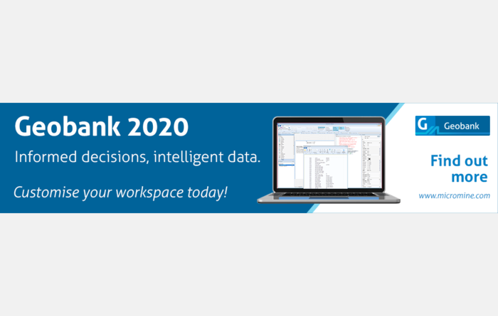 MICROMINE STRENGTHENS DATA MANAGEMENT SOLUTION WITH Geobank 2020