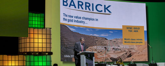 Mark Bristow says more gold deals are coming