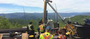 White Gold drilling gets underway at Vertigo discovery