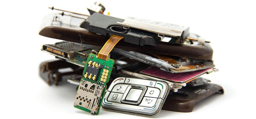 """The value of recoverable materials contained in e-waste … was US$55 billion"""
