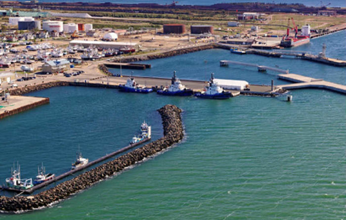 Miners to develop port link
