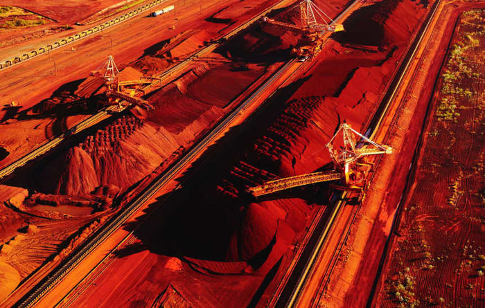 Copper dampens BHP iron ore record