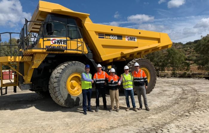 La Parrilla mining contract awarded