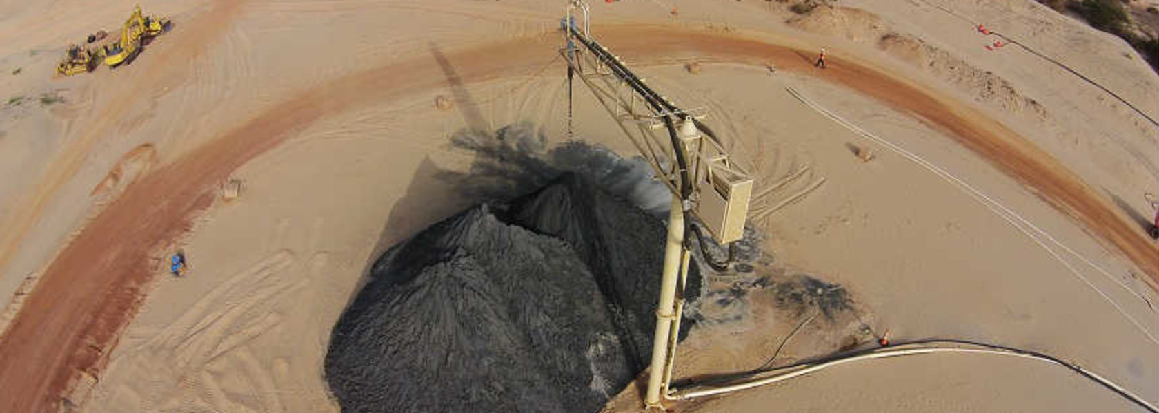 Mineral sands set for recovery