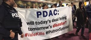 Mining activists storm PDAC during sustainability talk