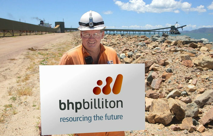 BHP leads miners lower