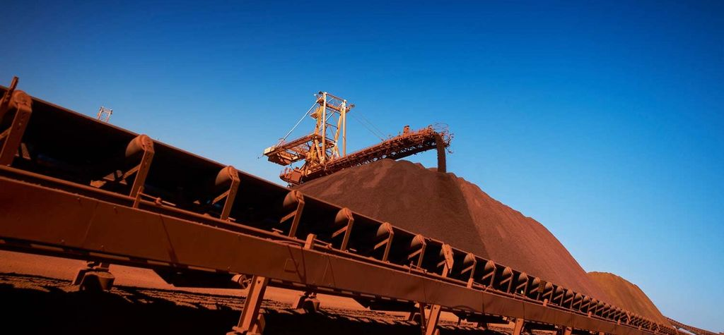 Iron ore, US market futures up