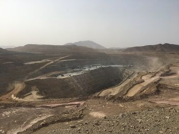 alt='The Bisha mine, successfully commissioned in 2010, is among the 100% of projects with a positive DFS that have progressed to production in Eritrea'
