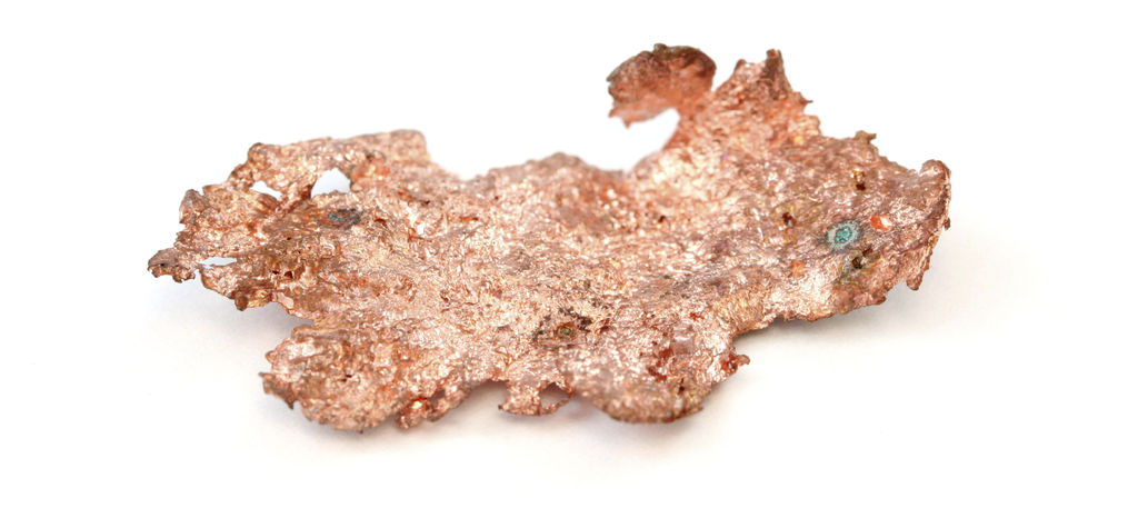 Copper finds are drying up