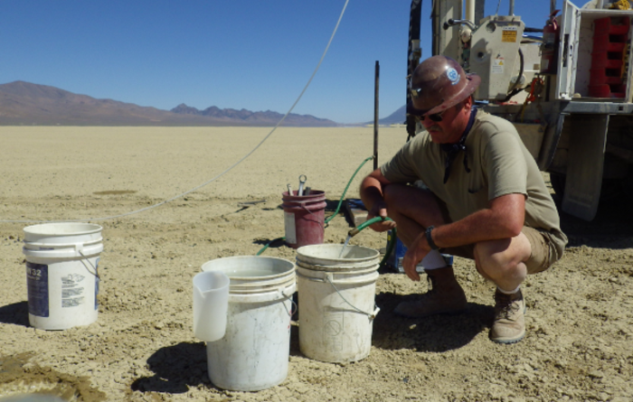 Nevada Exploration defines targets with groundwater