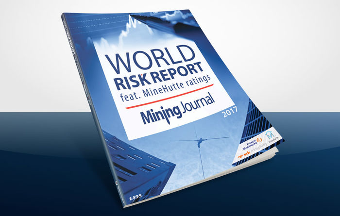 Download the World Risk Report 2017 (feat.MineHutte ratings)