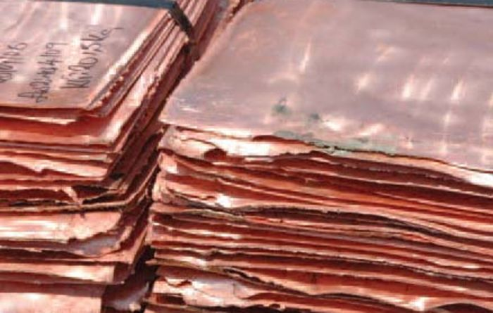 Chile copper production down in October