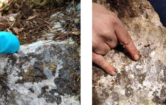 """It is extremely uncommon to find outcropping mineralisation in Ireland"""
