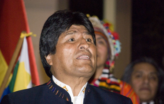 Morales to get the Ev-o in Bolivia?
