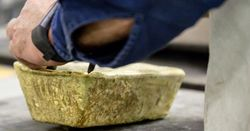 Gold gains as market sentiment sinks