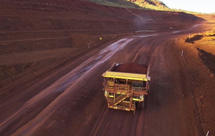 Iron ore, equities on the rise