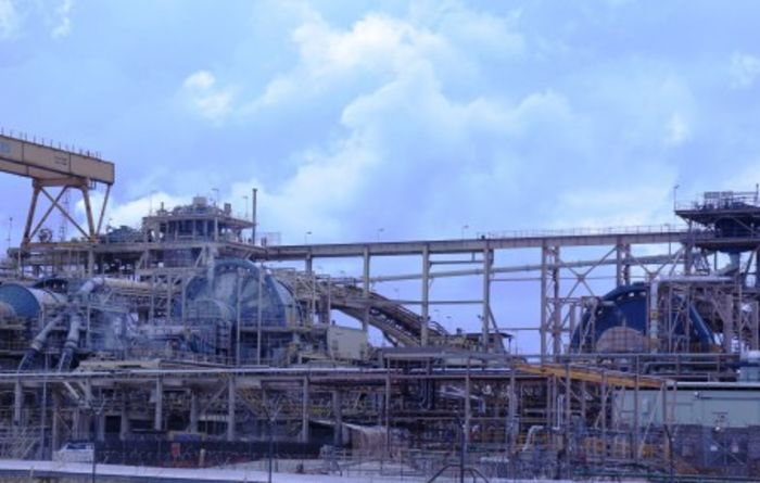 Expanded Ahafo mill processes first ore