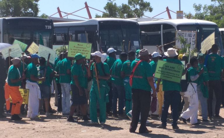 No end in sight for AMCU Sibanye-Stillwater strike