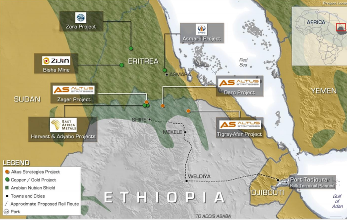 Altus receives Zager exploration licence