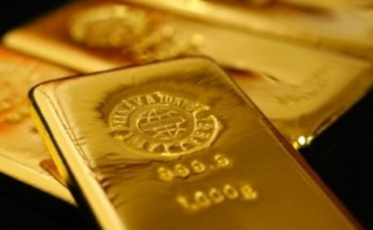 Gold demand at eight-year low