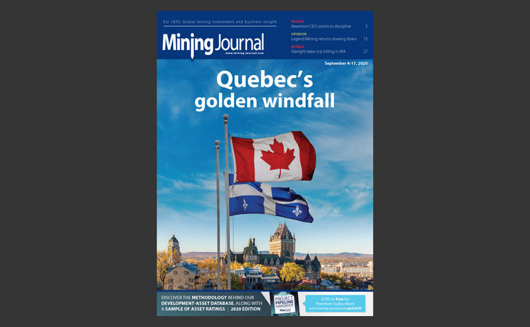 Mining Journal eMagazine: 4th September 2020