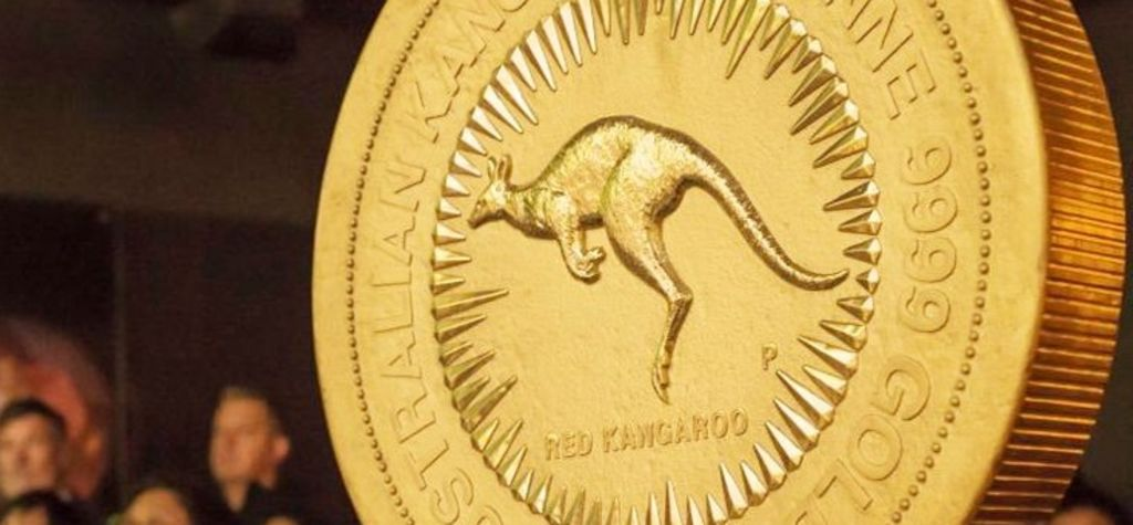 American markets positive, 1t gold coin on show