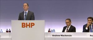 BHP defends coal, industry lobbying