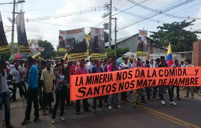 Strike shuts Gran Colombia mine