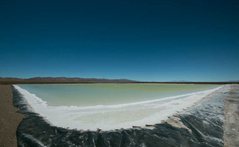 Who is fully charged in lithium race?