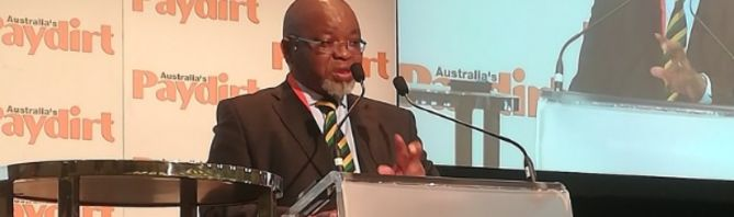 SA mining charter to be published by November: Mantashe